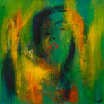Tine Weppler Begær 40 x 40 cm