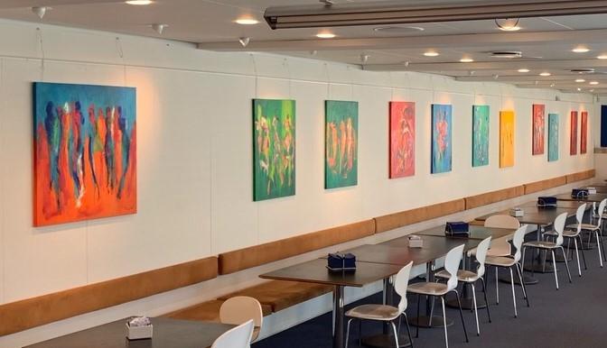 Leje af malerier til kontoret eller leje af maleri til firmaet