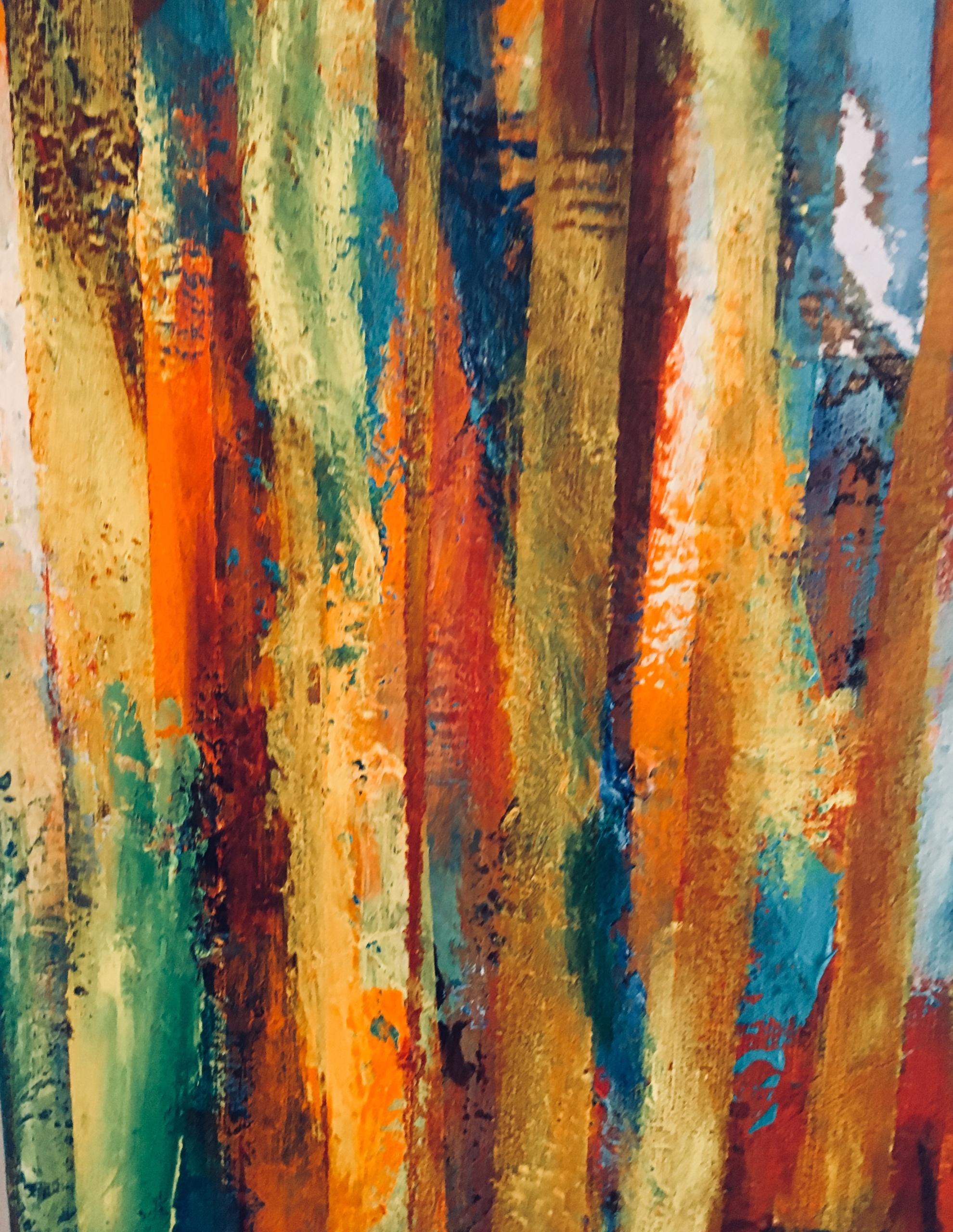 Inspiration fra den franske ø Reunion. Her vokser der Cedertræer på hvis bark der er de mest fantastiske mosser i mange forskellige farver.