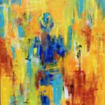 Tine Weppler On my Way 130 x 990 cm