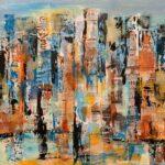 Tine Weppler storbymalerier af New York