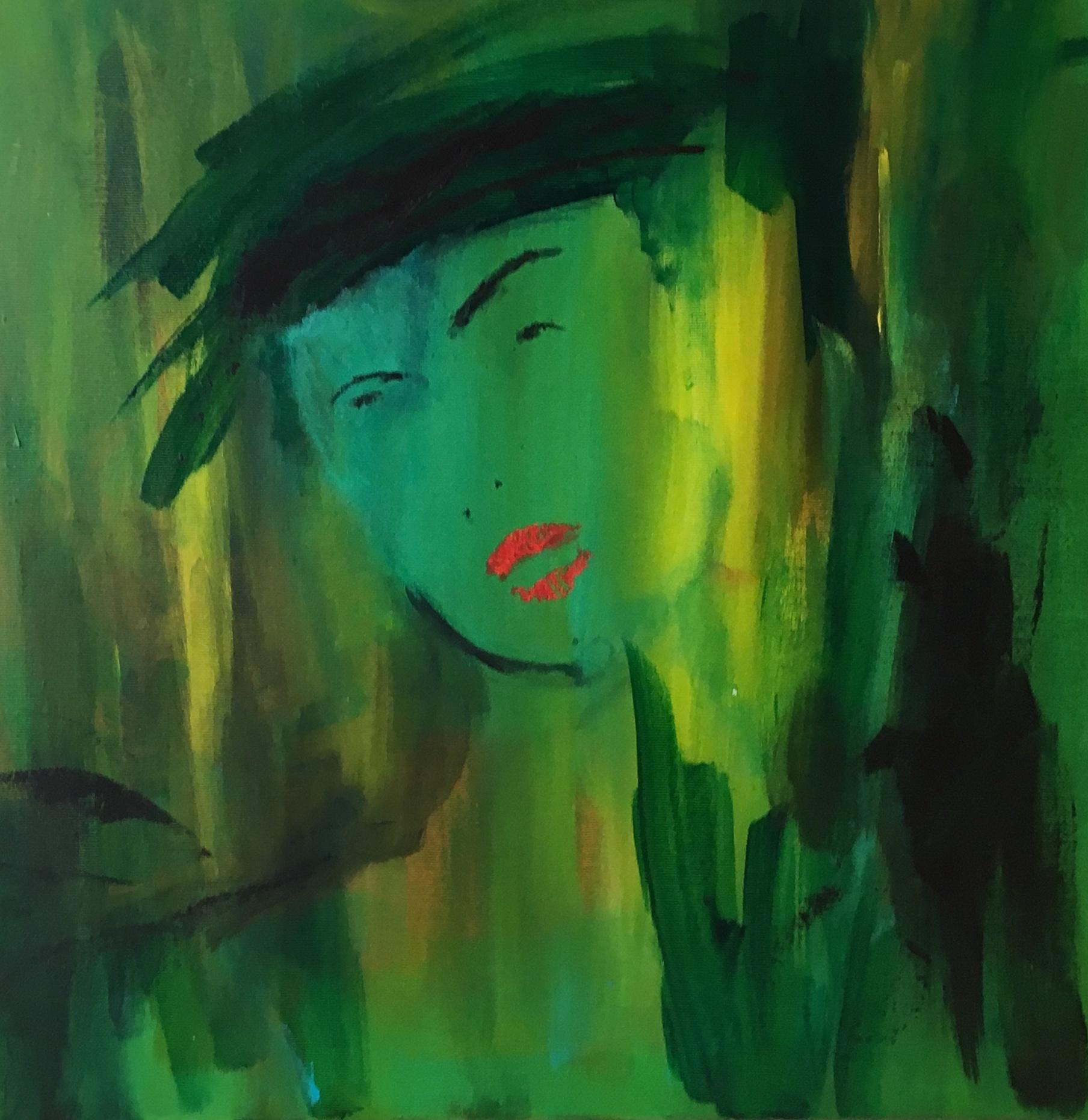 Ansigtet toner frem ud af det grønne - og er en person, jeg kom i tanke om, mens jeg var ude at gå i skoven.
