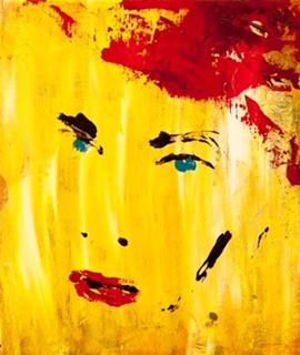 Den første dag dette portræt hang på en udstilling blev det solgt.
