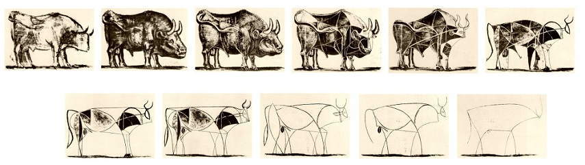 Picasso-The-Bull-Lithographs-1-10