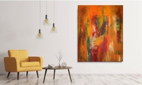 Få liv på væggen med unik og moderne kunst